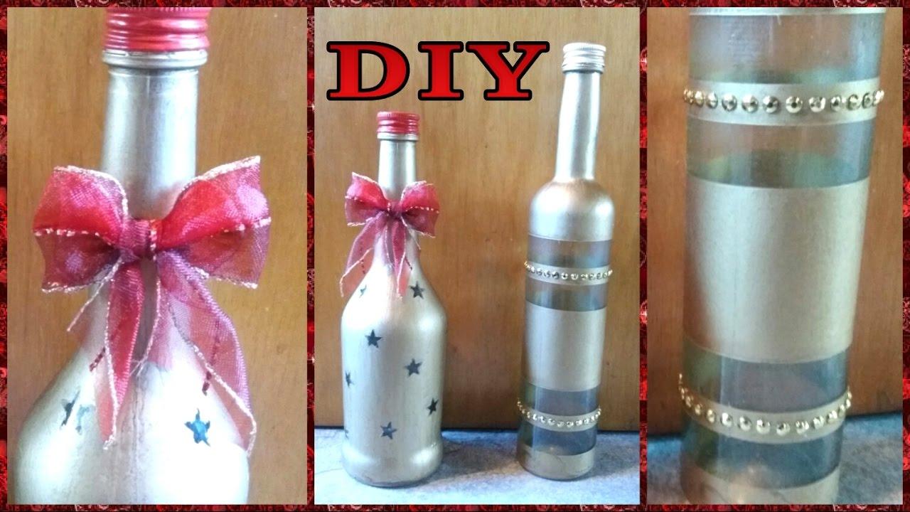 Deko  Flaschen fr Weihnachten  DIY  Julebuergerfee