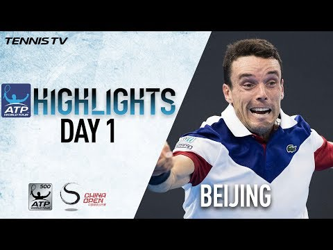 Highlights: Bautista Agut, Fognini Start Strong In Beijing 2017