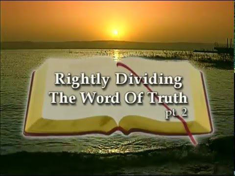rightly-dividing-the-word-of-truth---the-end-times