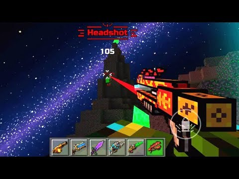 Pixel Gun 3D Unlock NEW Weapon Legendary Dragon Breath - Gameplay Part 111 (iOS, Android)