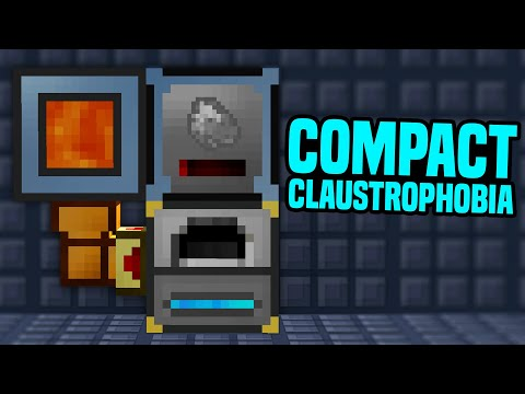 Minecraft Compact Claustrophobia | FASTER COAL COKE & MORE AUTOMATION! #11[Modded Questing Skyblock]