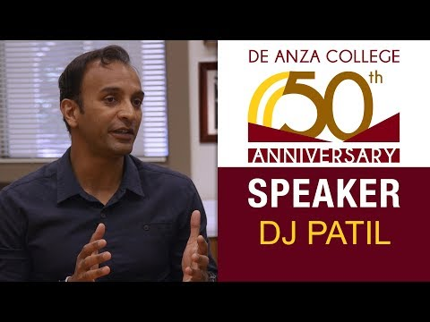 50th Anniversary Speaker - DJ Patil | De Anza College