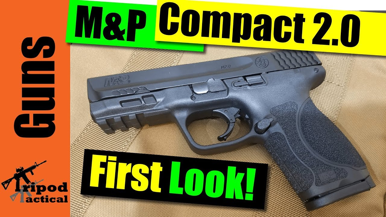 Smith And Wesson 12039 Unboxing: S&W M&P 2.0 Compact: Unboxing & First Look