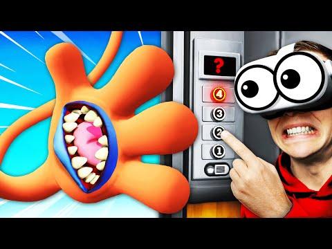 Unlocking ANY SECRET HANDS In VR ELEVATOR (Floor Plan 2)