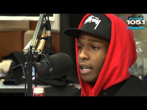 A$AP Rocky talks: Music, Favourite Rappers, Iggy Azalea and lifestyle!