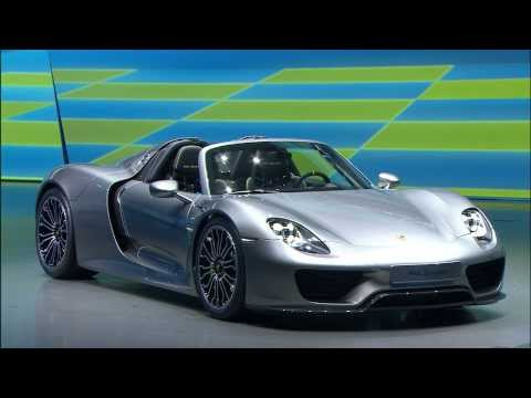 Porsche at 65th IAA Cars (2013 Frankfurt motor show)