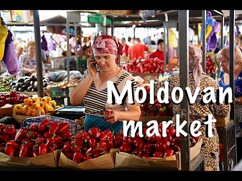 Chisinau CENTRAL MARKET in Moldova (Piata Centrala)