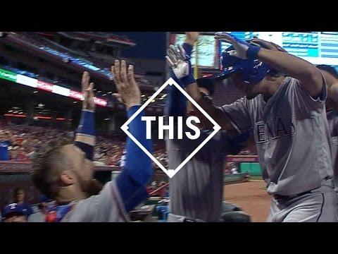 #THIS Yu Darvish first career home run