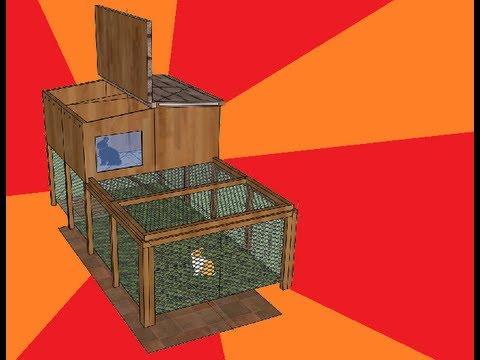 Kaninchengehege selber bauen Schritt 1