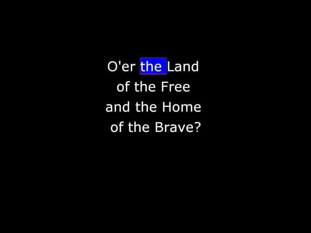 Songs - The Star Spangled Banner Presented by the United States Air Force Band