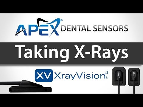 Apteryx XrayVision Capturing Images & Taking X-rays - Apex Dental Sensors - Training