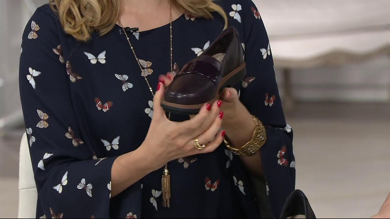 Clarks Leather Slip-On Loafers - Raisie