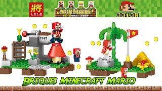 Brique chinoises style minecraft super mario