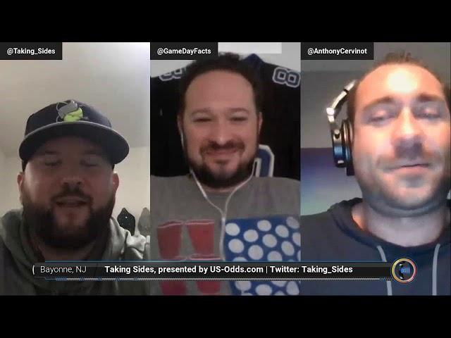 Taking Sides Podcast Presented by US-Odds.com -  Kansas City Chiefs at Denver Broncos