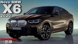 Novo BMW X6 2020 No Brasil! (Garagem 2.0)