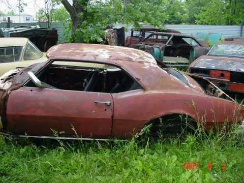 1969 Camaro Z28 >> Wrecked, Rusted & Forgotten Camaros - YouTube