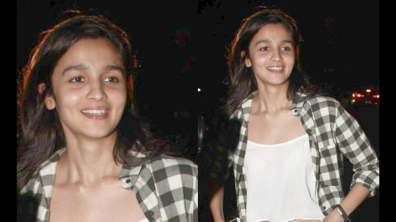 alia bhatt caught without makeup youtube