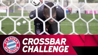FC Bayern Crossbar Challenge (and Bum Shots!)   Doha 2017