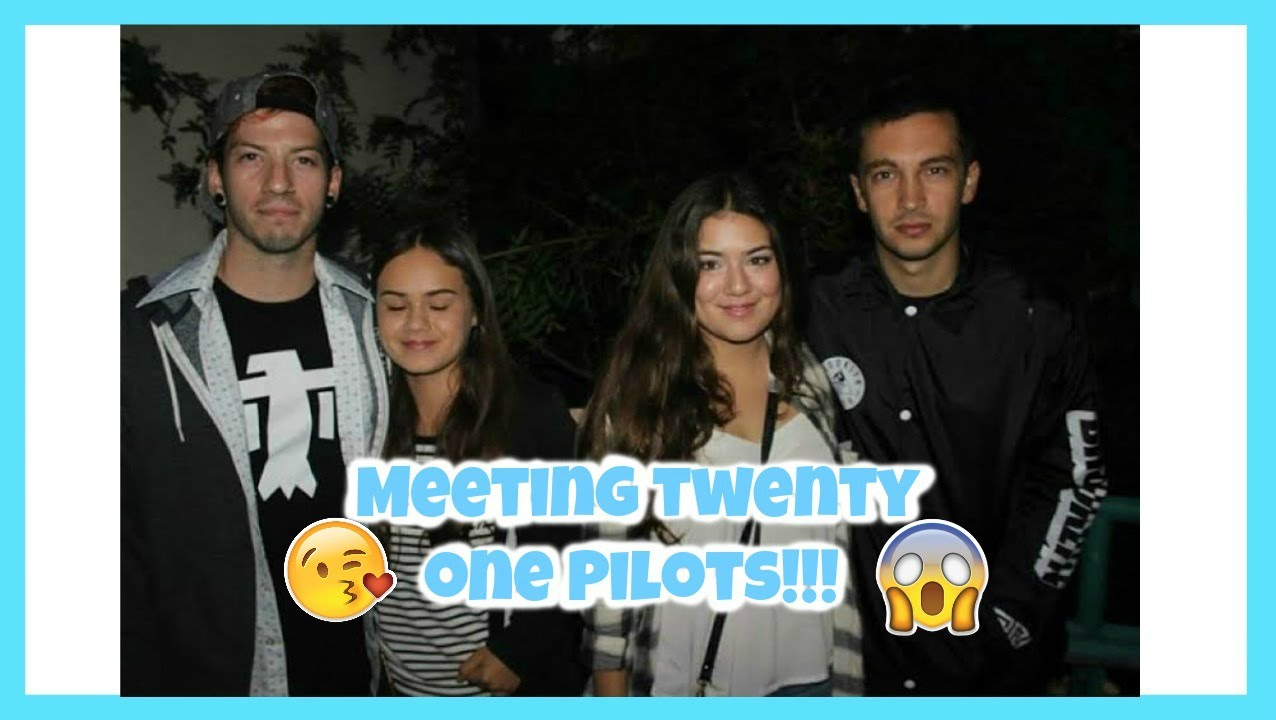 Twenty one pilots meet and greet echosmith finish ticket youtube m4hsunfo