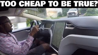 Everything Wrong With a Cheap Craigslist Tesla thumbnail