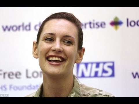 Eating strawberries saved my life, says Army nurse cured of Ebola after being first in world
