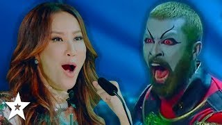 CREEPY Fantasy Magician WOWS The judges On World's Got Talent 2019 | Got Talent Global
