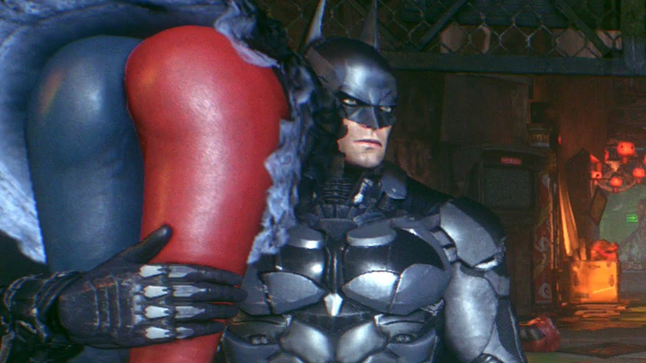 Batman & Robin vs Harley Quinn – Batman Arkham Knight