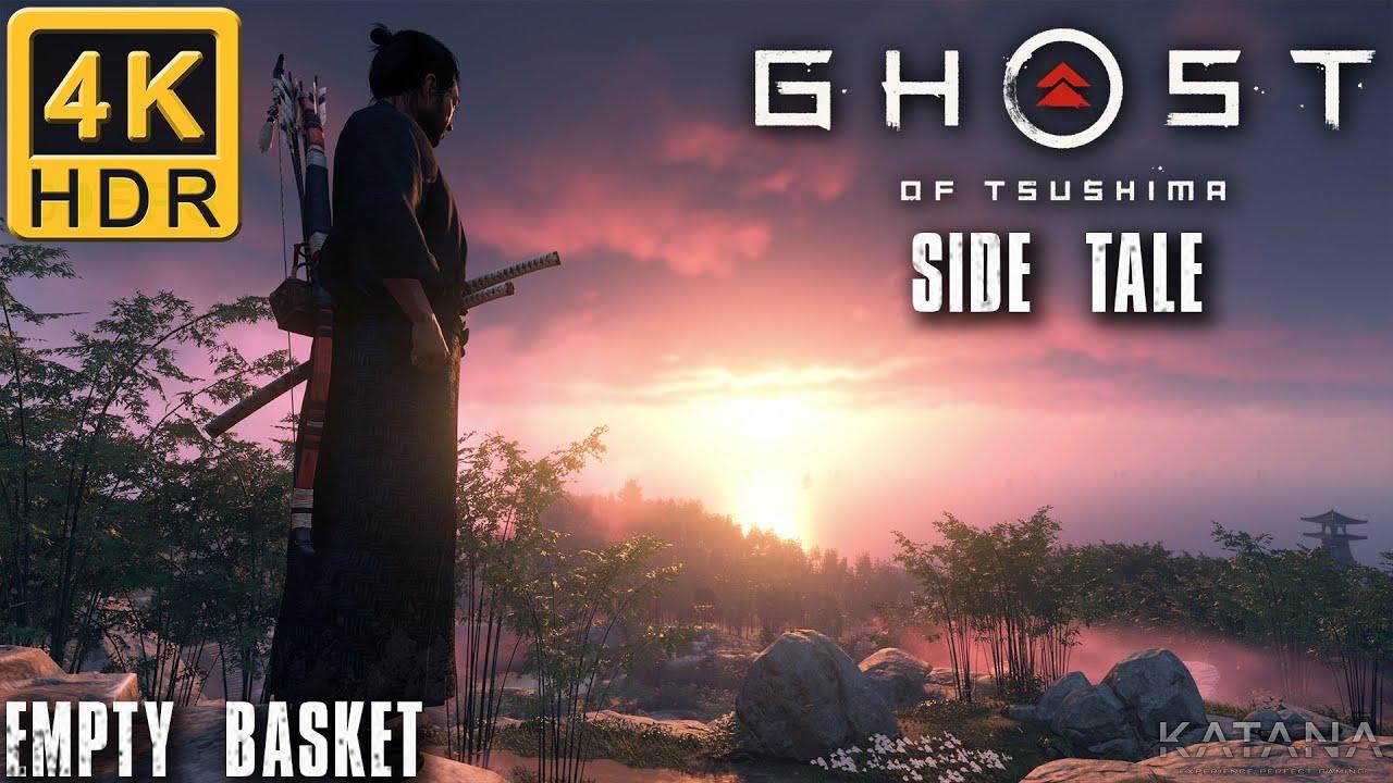 Ghost of Tsushima Side Tale Walkthrough | Lethal No Damage | Empty Basket