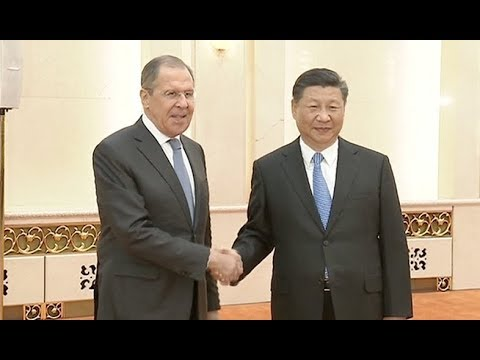 Chinese President Xi Jinping Meets Russian Foreign Minister