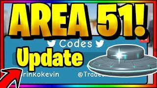 NEUE *SECRET* AREA 51 CODES! Roblox Unboxing Simulator [🛸ALIENS UPDATE🛸]