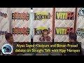 Straight Talk with Vijay Narayan - Biman Prasad and Aiyaz Sayed-Khaiyum