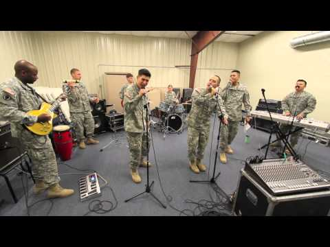 "191st Army Rock Band - ""Mustache Man"" by Cake"