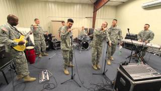 """191st Army Rock Band - """"Mustache Man"""" by Cake"""