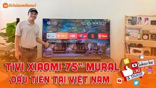 Tivi Xiaomi Mi Mural 75 inch Tranh Tường Đầu tiên Việt Nam - Sự Thật Tivi Xiaomi Hà Nội