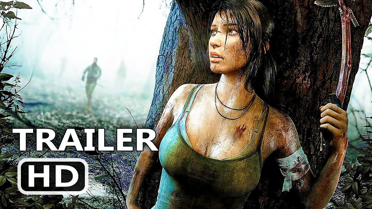 PS4 - Shadow Of The Tomb Raider: A Stunning World + Deadly Tombs Trailer (2018)