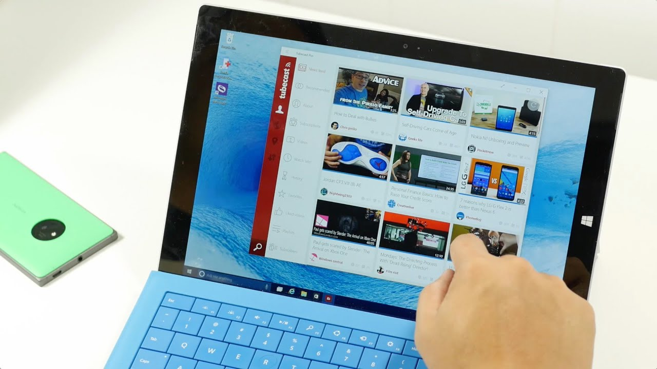 Tubecast for Windows 8 1 lets you do more than just watch Youtube