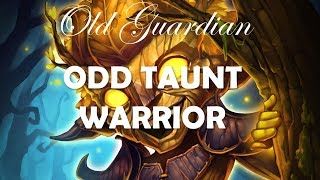 How to play Odd Quest Warrior / Taunt Warrior (Hearthstone Boomsday deck guide)