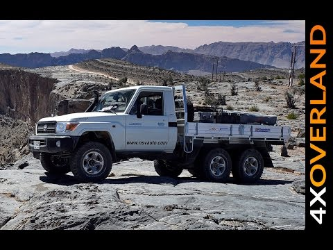 Toyota Land Cruiser 6x6. Spectacular. Dubai-Oman. Part-1