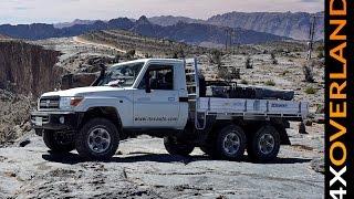 Baixar Toyota Land Cruiser 6x6. Spectacular. Dubai-Oman. Part-1