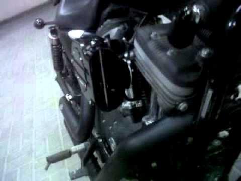 Iron 883 2010 with kuryakyn hypercharger & vance & hines ...