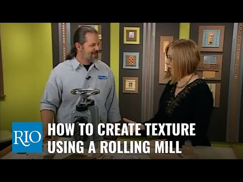 How To Create Texture Using a Rolling Mill