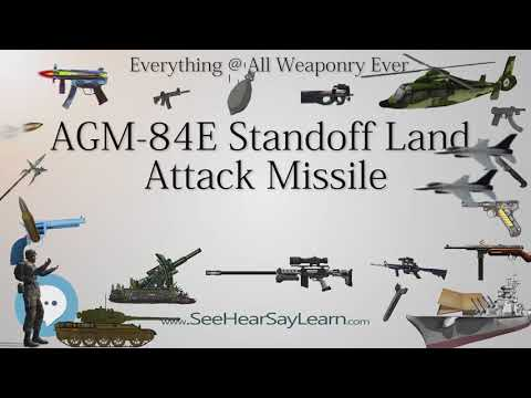 AGM 84E Standoff Land Attack Missile (Everything WEAPONRY & MORE)💬⚔️🏹📡🤺🌎😜✅