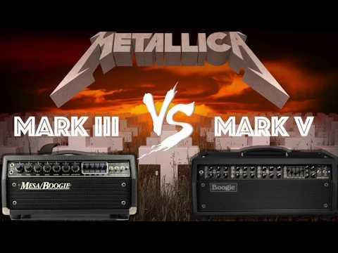 Metallica Guitar Tone - Mesa Boogie Mark III vs Mark V