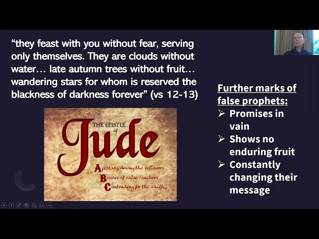 Holy Trinity Church Bible Study  The Letter of Jude  session 3