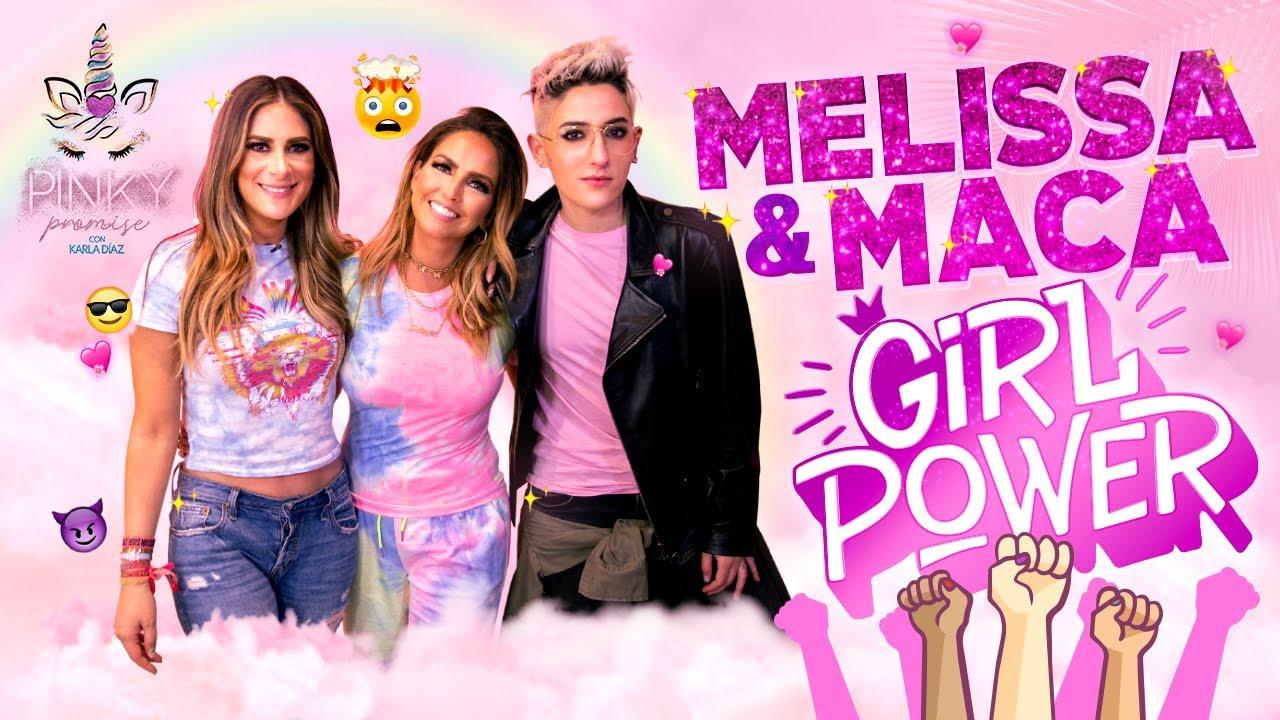 Melissa López y Maca Carriedo en Pinky Promise - T1 - Ep5