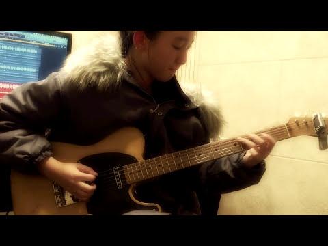Deja blue Guitar Cover - 오지현 (Ozzy Hyun) 2016