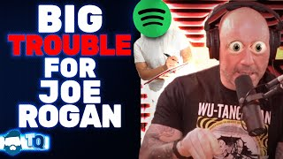 Joe Rogan LOSING Control Of His Podcast? Spotify To EDIT Future Episodes!