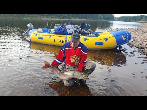 Один день из похода за тайменем в Якутии (август 2021)