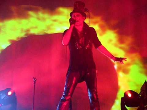 Adam Lambert Ring of Fire Ryman Auditorium Nashville TN July 7, 2010