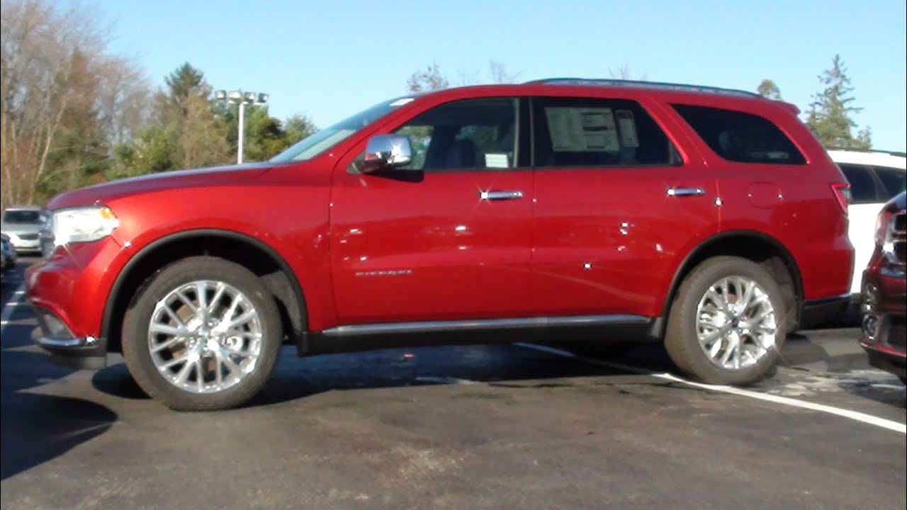 Dodge Durango Citadel >> MVS - 2014 Dodge Durango Citadel AWD - YouTube